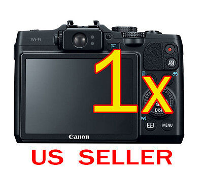 1x Canon PowerShot G16 Camera Clear LCD Screen Protector Guard Shield Film