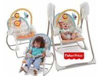 Fisher Price 3-in-1 Swing 'n Rocker *from birth up to 18kg*