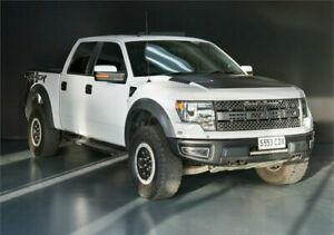2014 Ford F150 RAPTOR SVT White Automatic Utility Adelaide CBD Adelaide City Preview