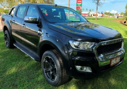 2016 Ford Ranger PX MkII XLT Double Cab Black 6 Speed Sports Automatic Utility Hidden Valley Darwin City Preview