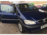 Vauxhall Zafira 7 seater, 1.6 manual, 12 months MOT £795 Ono V62 form .