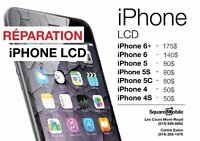Réparation LCD iPhone 6+/ 6 / 5S / 5C / 5 / 4S / 4 SQUARE MOBILE