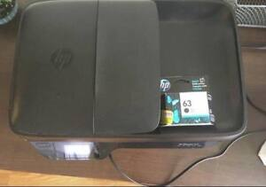 HP OfficeJet 3830 Printer and Ink (like new)