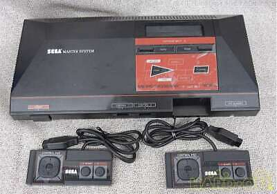 Used 1987 SEGA MASTER SYSTEM MK-2000 Retro Game Console With Controller Adapter