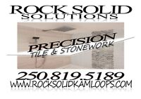 Rock Solid Solutions - Precision Tile & Stonework~