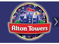 Alton Tower Tickets x 4
