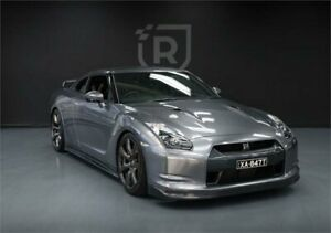 2009 Nissan GT-R R35 Premium Grey Sports Automatic Dual Clutch Coupe Adelaide CBD Adelaide City Preview