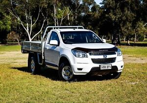2013 Holden Colorado RG MY13 LX White 6 Speed Sports Automatic Cab Chassis Medindie Walkerville Area Preview