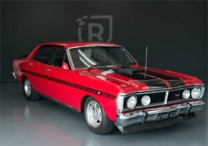 1972 Ford Falcon XY [Empty] Red Manual Sedan Adelaide CBD Adelaide City Preview