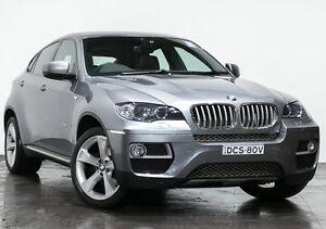 2012 BMW X6 E71 LCI xDrive40d Coupe Steptronic Grey 8 Speed Sports Automatic Wagon Rozelle Leichhardt Area Preview