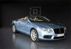2014 Bentley Continental 3W MY14 GTC V8 Blue Sports Automatic Convertible Adelaide CBD Adelaide City Preview