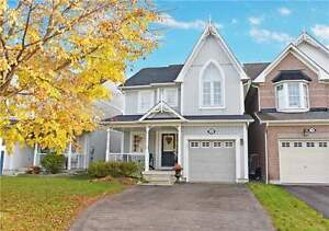 Beautiful Brooklin 4 Bedroom Home For Rent, Available Now!