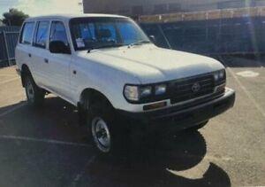 1996 Toyota Landcruiser HZJ80R DX (4x4) White 5 Speed Manual 4x4 Wagon Roselands Canterbury Area Preview