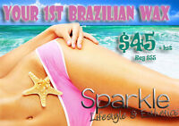 Brazilian wax promo!! Get your first brazilian for $45