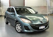 2010 Mazda 3 BL10F1 MY10 Neo Activematic Blue Metallic 5 Speed Sports Automatic Hatchback Myaree Melville Area Preview