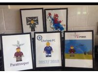 Personalised Lego prints