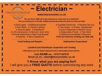 YOUR LOCAL DOMESTIC ELECTRICIANS