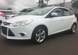 2013 Ford Focus LW MKII Trend PwrShift White 6 Speed Sports Automatic Dual Clutch Hatchback Berrimah Darwin City Preview