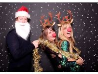 Christmas Photo Booth Cambridgeshire, Hearts and Beds (fully insured)