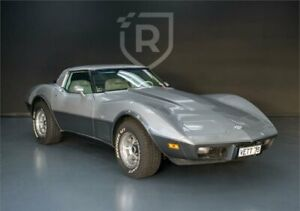 1978 Chevrolet Corvette C3 MY1978 Silver Anniversary Silver Automatic Targa Adelaide CBD Adelaide City Preview