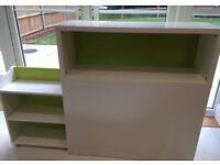 FLAXA bedroom headboard unit