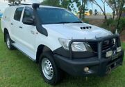 2014 Toyota Hilux KUN26R MY14 SR Double Cab White 5 Speed Manual Utility Berrimah Darwin City Preview