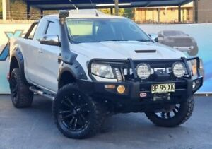 2012 Ford Ranger PX XLT White Sports Automatic Utility Campbelltown Campbelltown Area Preview