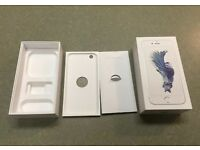 iPhone 6S 64GB SILVER EMPTY BOX ONLY