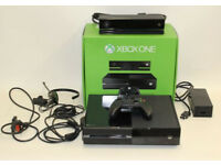 MICROSOFT Xbox One 500GB Black Games Console Kinect Controller Set