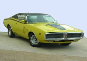1971 Dodge Charger R/T Yellow 3 Speed Automatic Coupe Moorooka Brisbane South West Preview