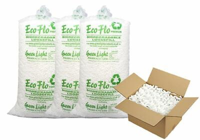 5 Cubic Feet Of Ecoflo Loose fill Packing Peanuts FAST