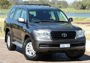 2008 Toyota Landcruiser UZJ200R GXL Grey 5 Speed Sports Automatic Wagon Glendalough Stirling Area Preview