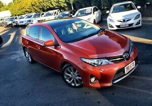 2012 Toyota Corolla ZRE152R MY11 Levin ZR Red 4 Speed Automatic Hatchback West Mackay Mackay City Preview