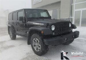 2015 Jeep Wrangler Unlimited Rubicon Heated Leather Remote Start