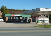 Fully equipped service center and gas bar for sale !!