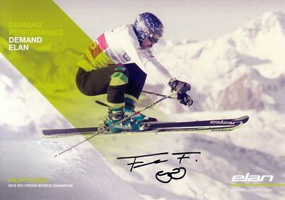 Filip Flisar (SVN) SKI Cross Weltmeister Freestyle 2015 original signiert/signed