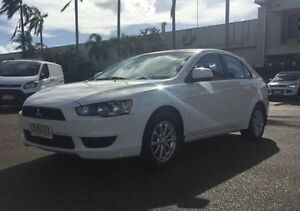 2011 Mitsubishi Lancer CJ MY11 SX Sportback White 6 Speed Constant Variable Hatchback Berrimah Darwin City Preview