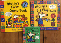 MAISY board books by LUCY COUSINS 3 for $10