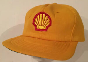 Vintage Shell oil gas hat