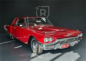 1965 Ford Thunderbird Red 3 Speed Automatic Hardtop Adelaide CBD Adelaide City Preview