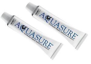 Aquasure-Kleber 2x 7 Gramm Tube Urethan Reparaturkleber