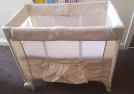 Travel cot for sale