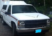 1998 Chevrolet C/K 1500 Pickup Truck with Tommy Gate & topper