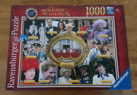 The House of Windsor Royal Family Complete Ravensburger 1000 puzzle
