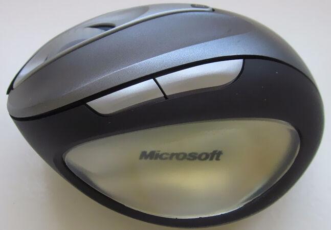 microsoft wireless laser mouse 6000 manual