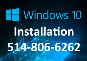 Migration windows 10 /  Windows 10 Migration - 514-806-6262
