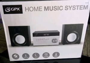 Home music system in excellent condition