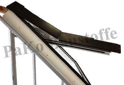 Dachfenster aus Kunststoff Skylight Premium 66x118 mit Eindeckrahmen   ROLLO
