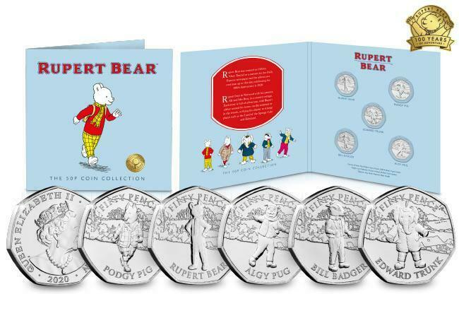The Complete Rupert Bear BU 50p Collection