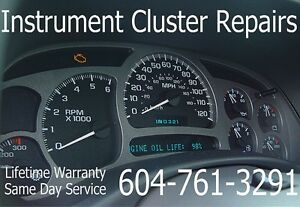 Instrument Cluster Speedometer And Module Repair